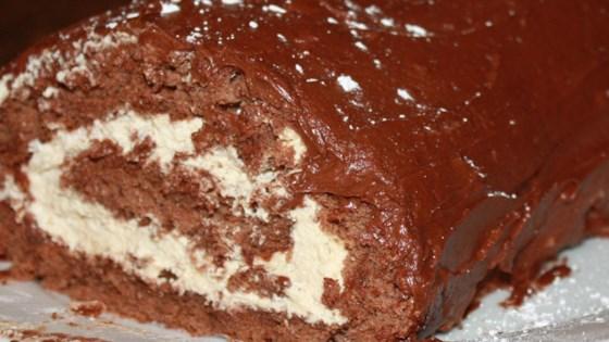 Photo of Jenny's Chocolate Yule Log  by Jenny  Hughson