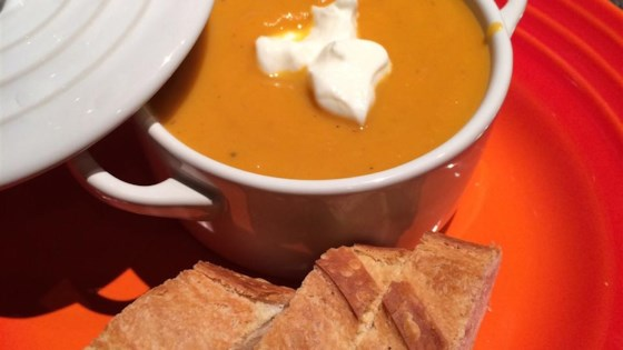 Photo of Rockin Carrot, Sweet Potato, and Ginger Soup by LIANNASR
