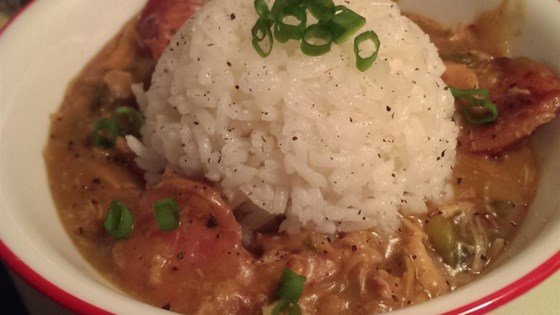 Cajun Chicken And Sausage Gumbo Recipe Allrecipes