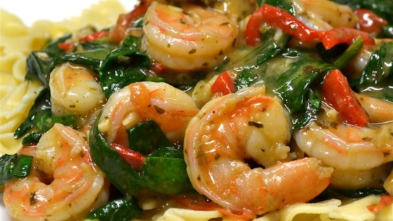 Photo of My Special Shrimp Scampi Florentine by Valerie
