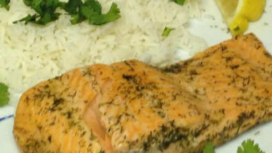 Photo of Poached Salmon In The Microwave by BevF