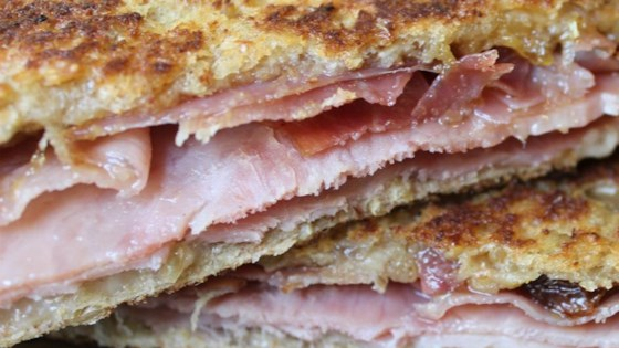 Grilled Ham and Cheese With a Twist
