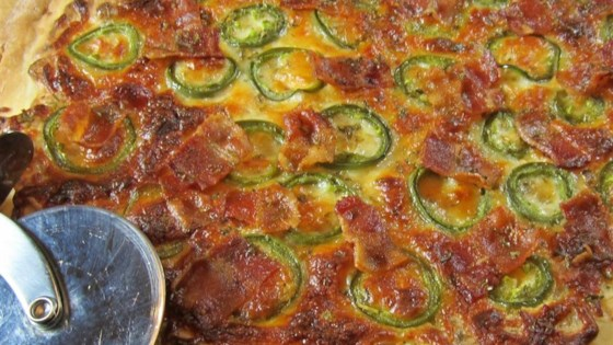 Photo of Jan's Jalapeno Popper Pizza by What's for dinner, mom?