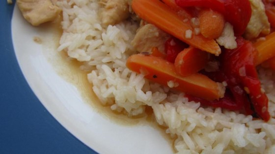 Chicken Delirious and Buttered Rice (for Pressure Cooker)