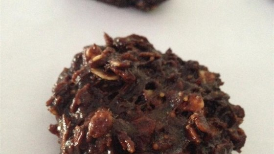 Photo of No Bake Chocolate Oatmeal Cookies by Rachel