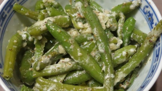 Photo of Italian Green Beans with Blue Cheese by judy2304