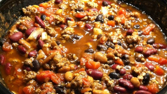 Photo of Slow Cooker 3-Bean Chili by lmyrato