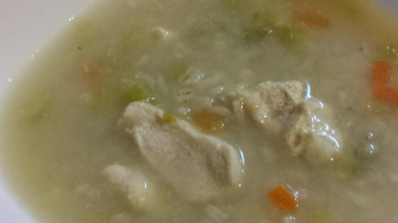Photo of Quick Easy Chicken Barley Soup by Charley
