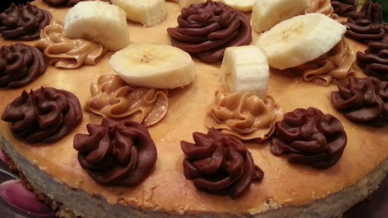 "Photo of Banana Peanut Butter Cheesecake aka ""The Elvis"" by Roland"