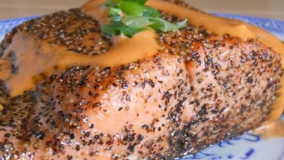 Sriracha-Marinated Salmon Recipe