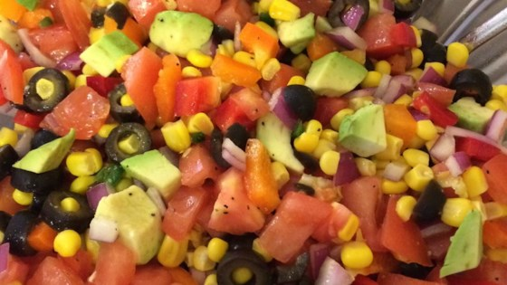 Photo of Tomato, Corn and Avocado Salsa by julie