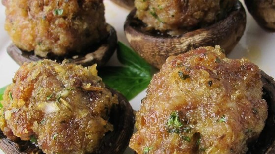 Easy Sausage Stuffed Mushrooms Recipe - Allrecipes.com