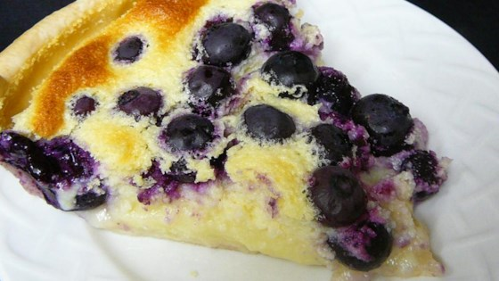 Photo of Lemon Blueberry Custard Pie by M. Parker
