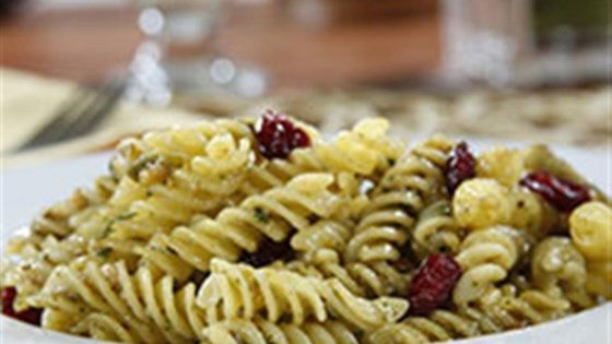 Photo of Gluten Free Rotini with a Charred Green Onion Pesto, Toasted Cashews and Cranberries by Barilla