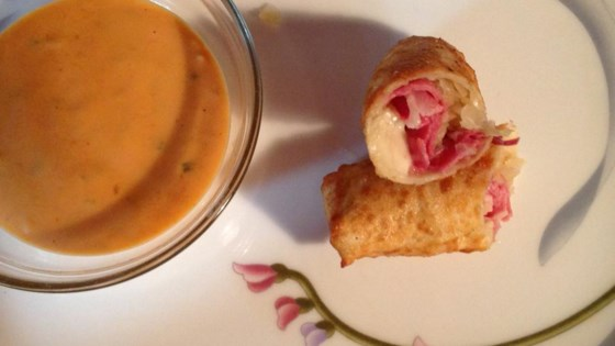 Photo of Egg Roll Reuben Wraps by Lori Foster