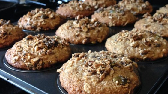 Photo of Banana Oat Muffins with Sour Cream by AAMMEGAN