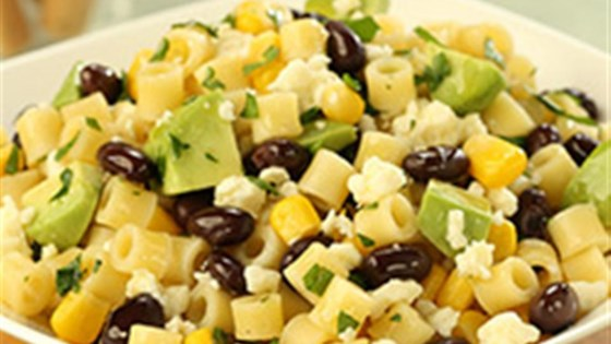 Photo of Ditalini Salad with Black Beans, Corn, Lime, Cotija Cheese and Avocado by Barilla