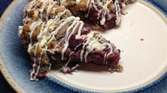 Photo of Luscious Raspberry Scones by sal