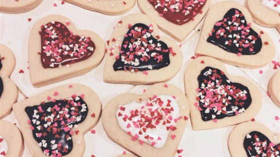 Photo of Pope's Valentine Cookies by Jelly