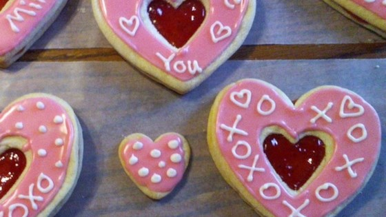 Easy Valentine Sandwich Cookies Recipe - Allrecipes.com