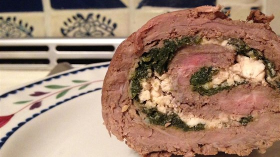 Photo of Flank Steak Pinwheels by Linda