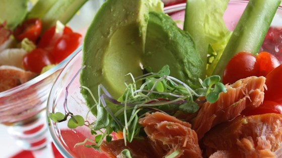 Photo of Salmon Avocado Salad by Dena G.