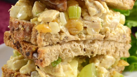 Photo of Fruity Curry Chicken Salad by Karen L. Baker