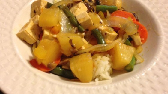Photo of Sweet and Sour Tofu Veggies by jen