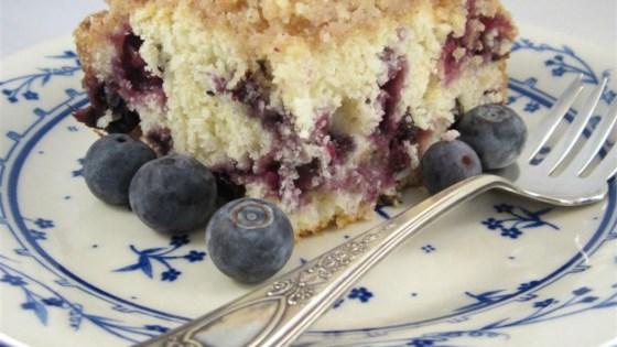 Grandma's Blueberry Buckle