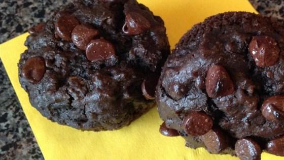 Eggless Peanut Butter Chocolate Muffins