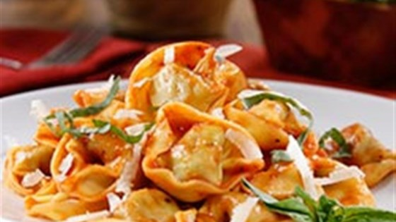 Photo of Three Cheese Tortellini with Traditional Sauce and Parmigiano Cheese  by Barilla