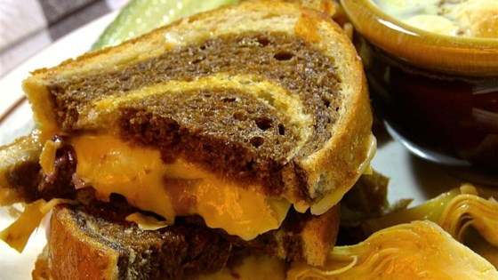 Photo of Gourmet Grilled Cheese on Rye by spatulove