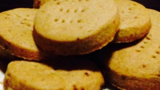 Brown Sugar Spiced Shortbread