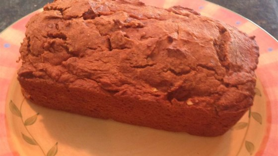 Photo of Low-Fat Pumpkin Chocolate Chip Bread by foolwithflour