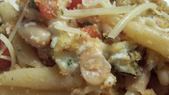 Photo of Pasta and White Beans Gratin by Syd