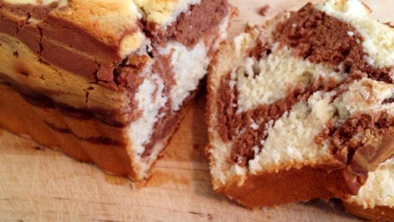 Photo of Marble Swirl Pound Cake by shirleyo