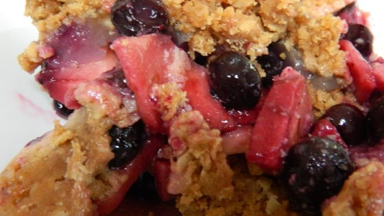 Photo of Blueberry-Apple Crunch by kathyE