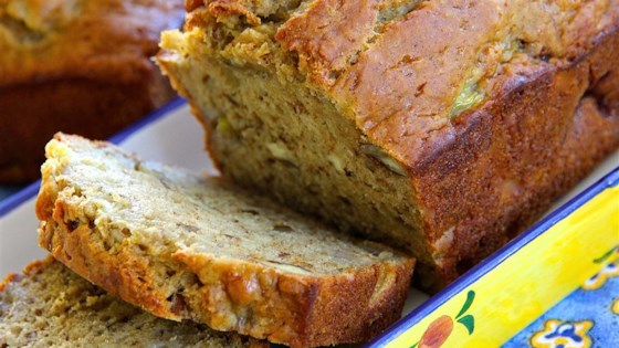 Almost no fat banana bread recipe allrecipes almost no fat banana bread forumfinder Image collections