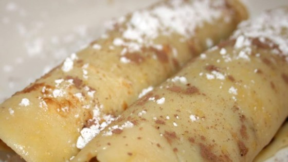 Photo of Chocolate Crepes with Banana by Jessica Norman
