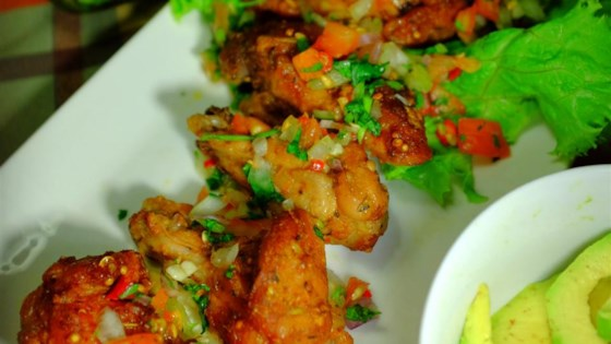 Photo of Mexican Buffalo Wings with Salsa Sauce by Yasmeen Dilapanga