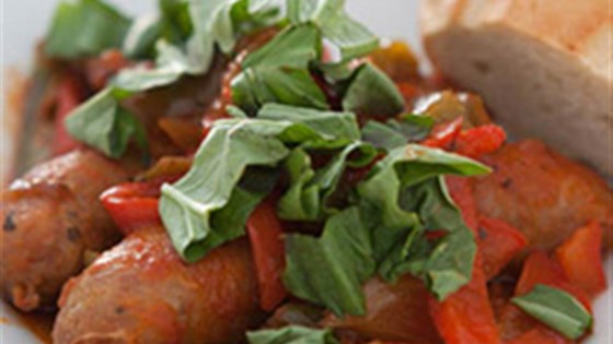 Photo of Slow Cooker Sausage and Peppers by RAGÚ®