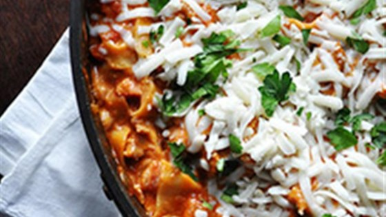 Photo of Easy Cheesy Skillet Lasagna by RAGÚ®