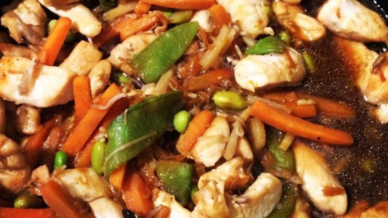 Photo of Citrus Chicken Stir Fry by cookied