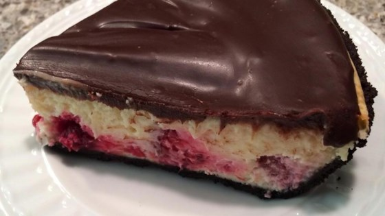 Photo of Easy Chocolate-Raspberry Cheese Pie by Cookie Monster