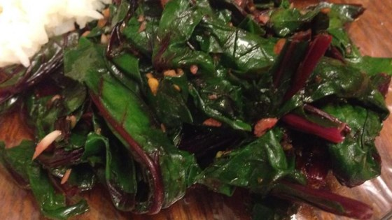 Photo of Simple and Delicious Beet Greens by Daryl Gerboth