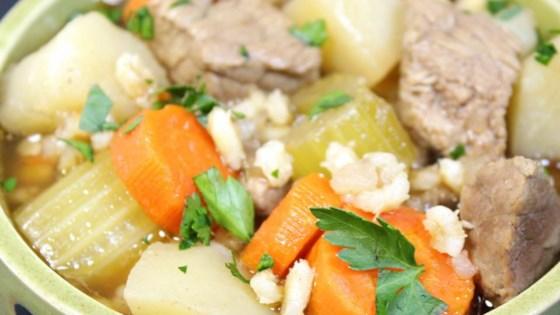 Alberta Beef Barley Stew