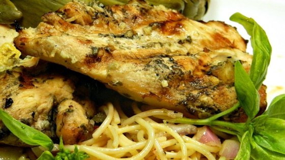 Photo of Lemon Basil Grilled Chicken by Mazola