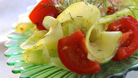 Photo of Quick Cucumber Salad by diane bartels