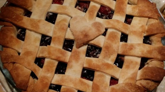 Photo of Blueberry Raspberry Pie by Sharona