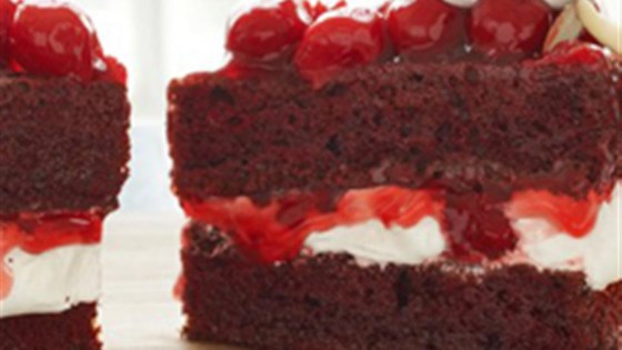 Photo of Red Velvet Cherry Torte by Duncan Hines® Canada
